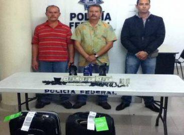 PF detecta 50 mil dólares  en envases de shampoo, el aeropuerto, de Guadalajara