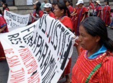 Dan voto de confianza desplazados de Copala, Oaxaca, al Estado para regresar a sus pueblos