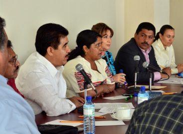 Acuerdan diputados locales redoblar esfuerzos para atender el problema migratorio