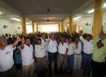 Candidatos del PRI, mejor opción para sacar a Oaxaca del rezago: Pérez Magaña