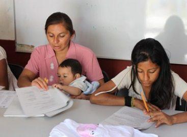 Gobierno busca mejores familias, promoviendo educación de madres jóvenes: IEEA