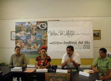 Presentan XXII Festival del Río, en Juchitán