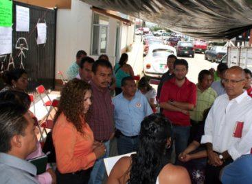 Paro en demanda de destitución del director de Protección  Civil, Manuel Maza Sánchez