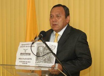 PRD se deslinda de actos de provocación contra Peña Nieto
