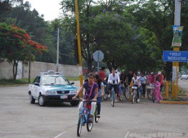 Organiza Sedesoh octavo Paseo Bienestar en bicicleta
