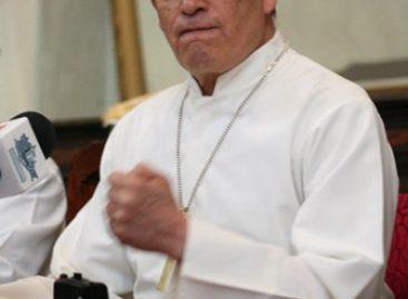 """Debate serio, no """"acto callejero"""": Arzobispo"""