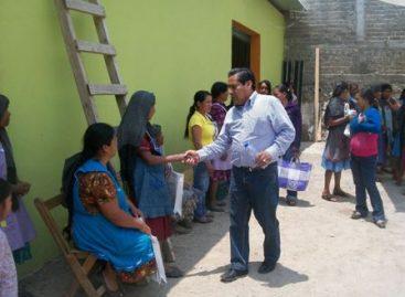 Propone Mario Rafael impulsar apoyo para el campo en Distrito de Ejutla