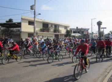 Amplía Paseo Dominical Bienestar ruta y recorre calles de Santa Cruz Xoxocotlán