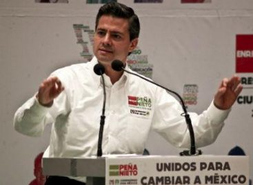 Peña Nieto va ganando la tercera circunscripción