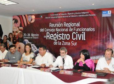 Reunión Regional de la Zona Sur de Funcionarios del Registro Civil