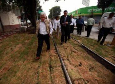 Listos primer tramo del Parque Lineal Ferrocarril de Cuernavaca y paso inferior vehicular en el DF