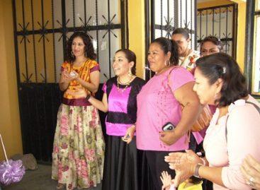 Diputada Aleida Serrano inaugura taller en apoyo a mujeres de Ciudad Ixtepec