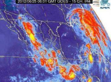 Se esperan hoy lluvias de fuerte a muy fuertes sobre gran parte del territorio nacional: SMN