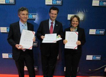 Buenos Aires, DF y Sao Paulo firman compromiso de colaboración en materia ambiental