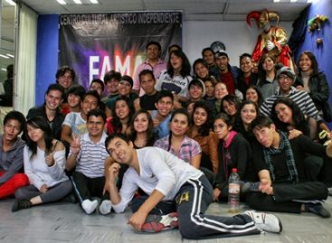 Escuela de actuación para jóvenes en riesgo del INJUVEDF