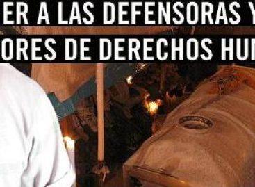 Ataques sistemáticos a defensores de DH en Oaxaca