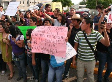 Agreden a simpatizantes de #yosoy132 durante visita de Peña Nieto a Juchitán