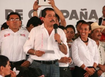Cierra Eviel Pérez Magaña campaña política en Tuxtepec, Oaxaca