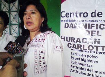 "Llama DIF a solidarizarse con damnificados del huracán ""Carlotta"""