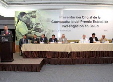 Abren convocatoria para Premio Estatal de Investigación en Salud 2012