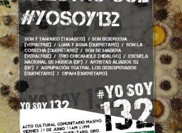#YOSOY132 Se elevará nuestro sol