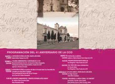 Celebra la CCO su 41 aniversario