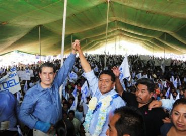 Joel Isidro cierra campaña ante 12 mil simpatizantes en Huautla