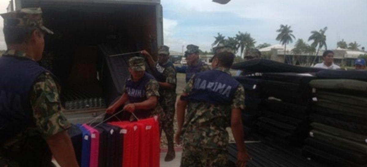 No se bajará la guardia hasta brindar atención integral a localidades afectadas por Carlotta: Cué