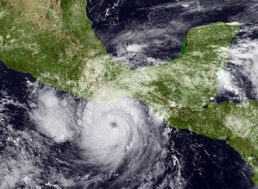 """""""Carlotta"""" se degrada a depresión tropical"""