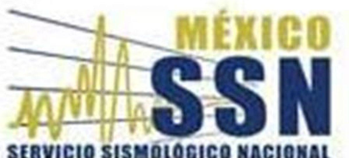 Se registra sismo de 4.2 Richter al Sur de Chiapas