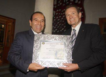 Entrega SSO reconocimientos a grupo Rotoplast International