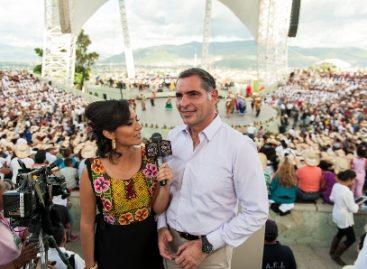 Guelaguetza, vínculo de unión con oaxaqueños en el exterior: Gabino Cué