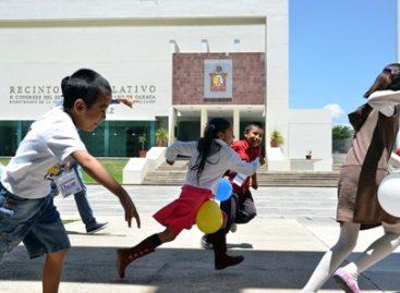 Inicia curso de verano para hijos de trabajadores del Congreso del Estado