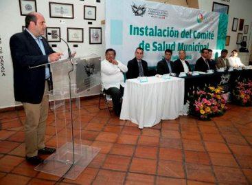 Instalan Comité de Salud Municipal