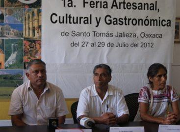 1ª Expo Feria Artesanal, Gastronómica y Cultural en Santo Domingo Jalieza