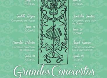 Grandes conciertos para grandes solistas en el Juárez