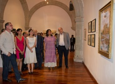 """Inaugura Cué """"Círculo Virtuoso, Artistas por Oaxaca"""", en el MUPO"""