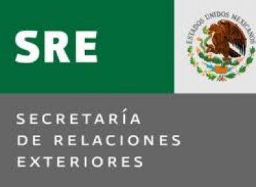 Emite comunicado Relaciones Exteriores sobre aprehensión de falsos periodistas de Televisa, en Nicaragua