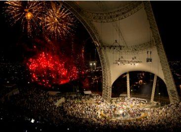 Con juego de luces, concluye Octava del Lunes del Cerro. ¡Adiós a la Guelaguetza 2012 en su 80 Aniversario!