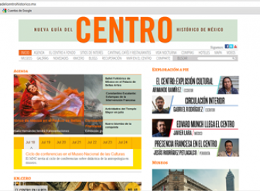 Dan a conocer el nuevo portal de la Guía del Centro Histórico