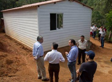 Inicia Programa para Mejoramiento de Viviendas en zonas marginadas de Oaxaca