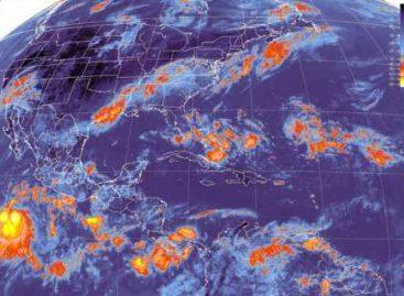 Se registran lluvias fuertes a muy fuertes sobre la mayor parte del territorio nacional