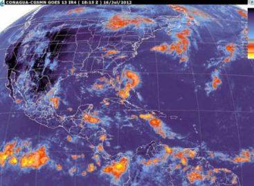 Se mantiene el potencial de lluvias fuertes sobre gran parte del país