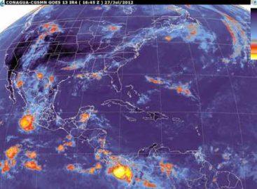 La Onda tropical N. 7 en la península de Yucatán, se desplaza hacia el oeste: SMN