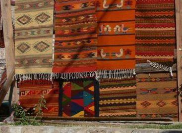 Realizan Segunda Feria del Tapete 2012 en Teotitlán del Valle, Oaxaca