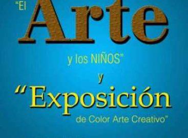 Exposición de color, arte creativo