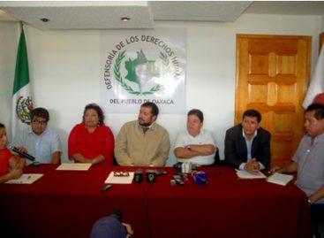 Llama Derechos Humanos al Poder Ejecutivo de Oaxaca a dar atención urgente a conflicto de Amoltepec