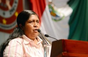 Coordinadora de la fracción parlamentaria del Partido del Trabajo (PT)