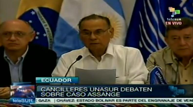 Ecuador ANASUR  Julian