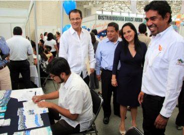 Ofertan más de mil 400 vacantes en la Sexta Feria Nacional de Empleo, en Oaxaca